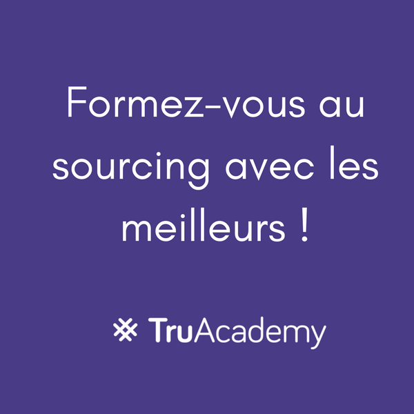 formation sourcing et recrutement truacademy