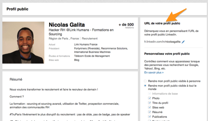 Exemple profil original site de rencontre