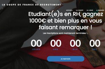 Découvrez les 3 équipes finalistes de la coupe de France de recrutement !