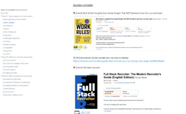 Notre encyclopédie du recrutement en 9 tomes