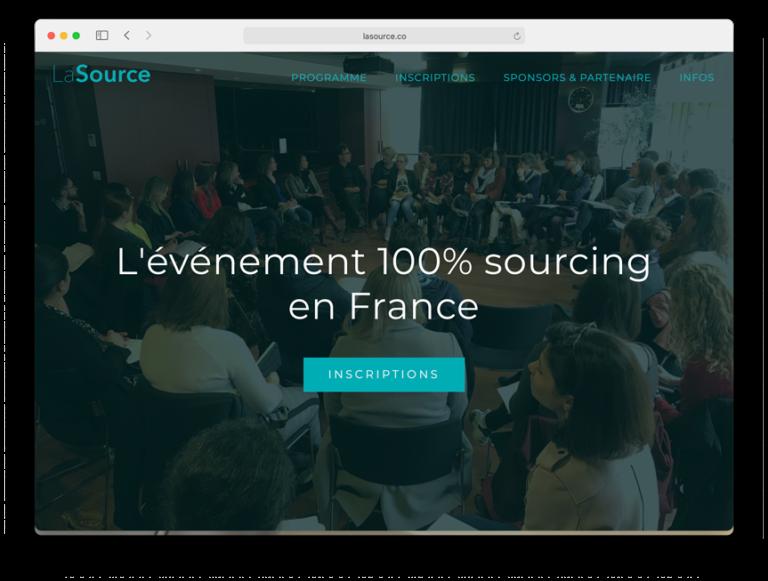 Site de la Source